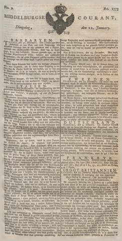 Middelburgsche Courant 1777-01-21