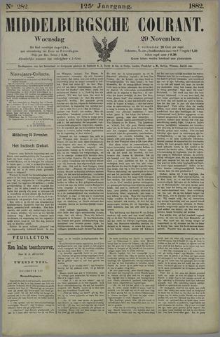 Middelburgsche Courant 1882-11-29