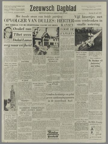 Zeeuwsch Dagblad 1959-04-20