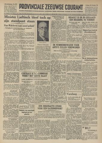 Provinciale Zeeuwse Courant 1949-10-28