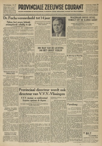 Provinciale Zeeuwse Courant 1950-03-02