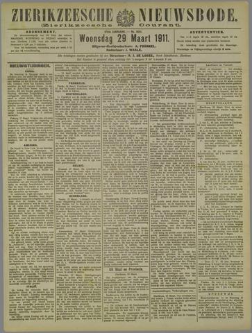Zierikzeesche Nieuwsbode 1911-03-29