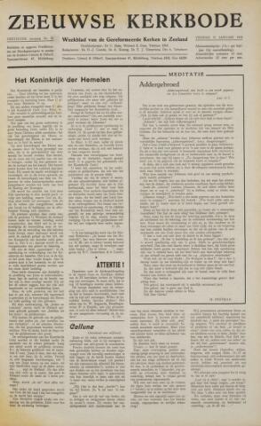 Zeeuwsche kerkbode, weekblad gewijd aan de belangen der gereformeerde kerken/ Zeeuwsch kerkblad 1958-01-31