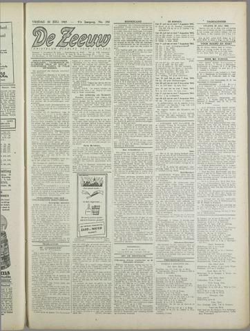 De Zeeuw. Christelijk-historisch nieuwsblad voor Zeeland 1943-07-30