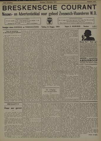 Breskensche Courant 1936-11-03