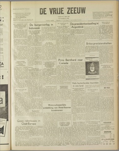 de Vrije Zeeuw 1958-05-02