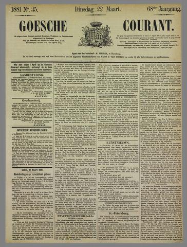 Goessche Courant 1881-03-22
