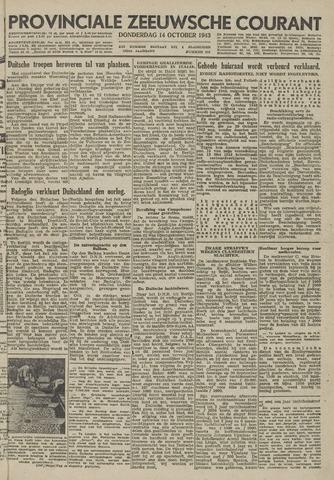 Provinciale Zeeuwse Courant 1943-10-14
