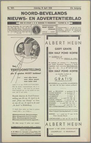 Noord-Bevelands Nieuws- en advertentieblad 1936-04-18