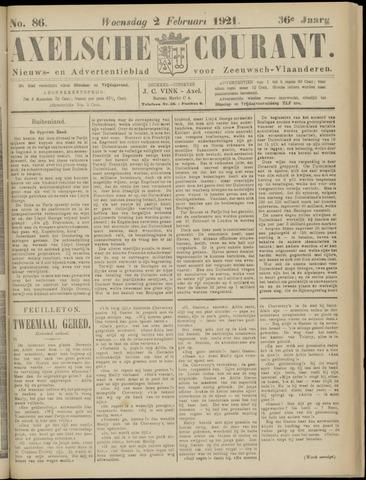Axelsche Courant 1921-02-02