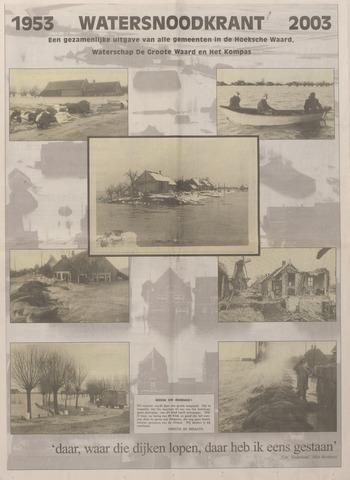 Watersnood documentatie 1953 - kranten 2002-11-30