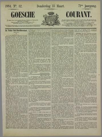 Goessche Courant 1884-03-13