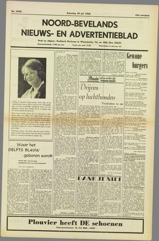Noord-Bevelands Nieuws- en advertentieblad 1960-07-30