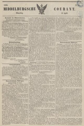 Middelburgsche Courant 1852-04-13