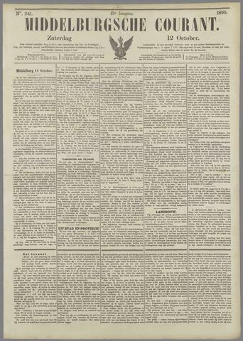 Middelburgsche Courant 1895-10-12