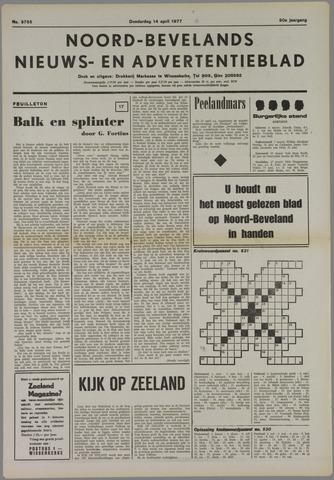 Noord-Bevelands Nieuws- en advertentieblad 1977-04-14