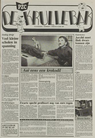 Provinciale Zeeuwse Courant katern Krullenbak (1981-1999) 1987-06-16