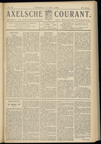 Axelsche Courant 1930-05-13