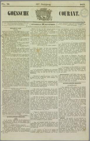 Goessche Courant 1857-09-10