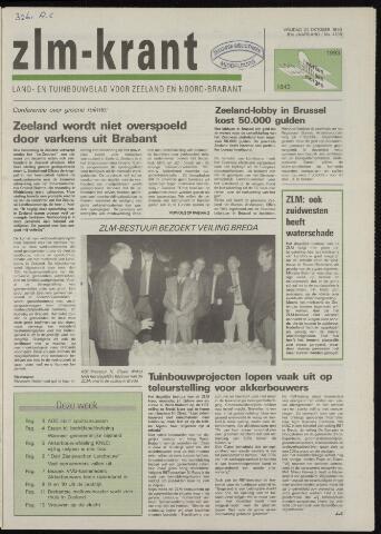 Zeeuwsch landbouwblad ... ZLM land- en tuinbouwblad 1993-10-22