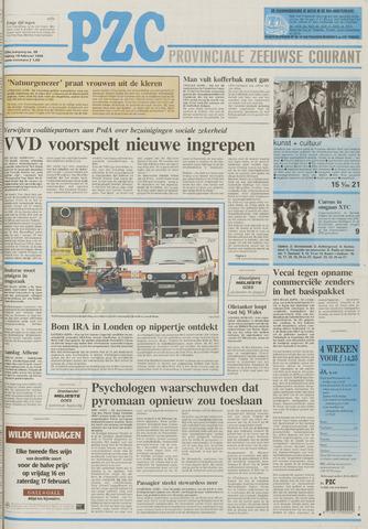 Provinciale Zeeuwse Courant 1996-02-16