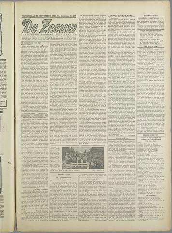 De Zeeuw. Christelijk-historisch nieuwsblad voor Zeeland 1943-09-16