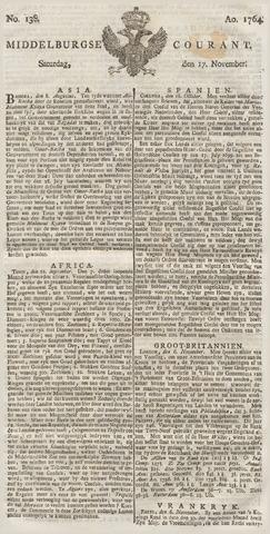 Middelburgsche Courant 1764-11-17