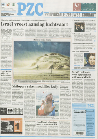 Provinciale Zeeuwse Courant 2002-02-25
