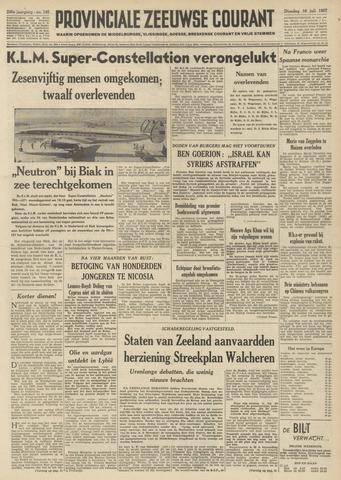 Provinciale Zeeuwse Courant 1957-07-16