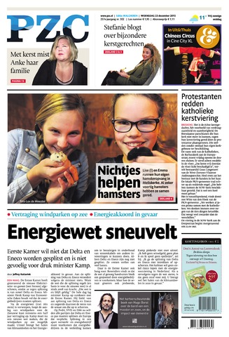 Provinciale Zeeuwse Courant 2015-12-23