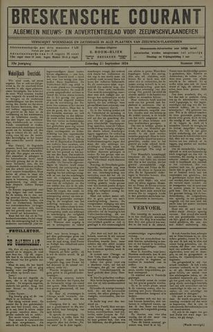 Breskensche Courant 1924-09-20