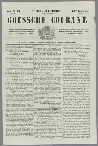 Goessche Courant 1865-10-13
