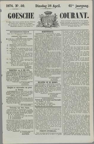 Goessche Courant 1874-04-28