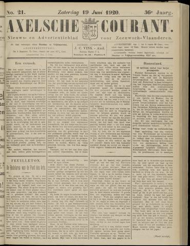 Axelsche Courant 1920-06-19