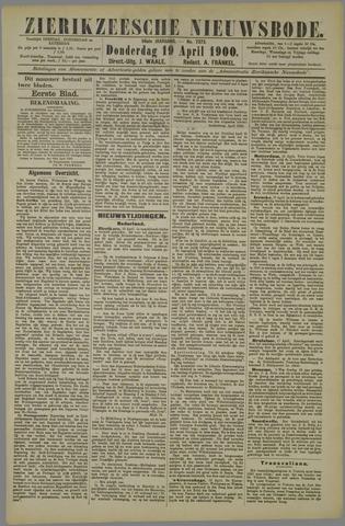 Zierikzeesche Nieuwsbode 1900-04-19