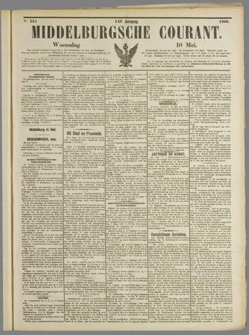 Middelburgsche Courant 1906-05-16