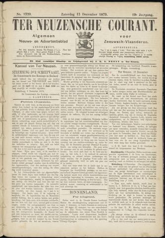 Ter Neuzensche Courant. Algemeen Nieuws- en Advertentieblad voor Zeeuwsch-Vlaanderen / Neuzensche Courant ... (idem) / (Algemeen) nieuws en advertentieblad voor Zeeuwsch-Vlaanderen 1879-12-13