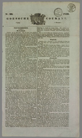 Goessche Courant 1836-12-09