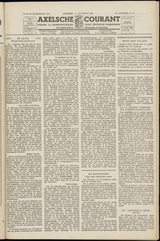 Axelsche Courant 1949-08-06