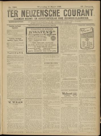 Ter Neuzensche Courant. Algemeen Nieuws- en Advertentieblad voor Zeeuwsch-Vlaanderen / Neuzensche Courant ... (idem) / (Algemeen) nieuws en advertentieblad voor Zeeuwsch-Vlaanderen 1926-03-10