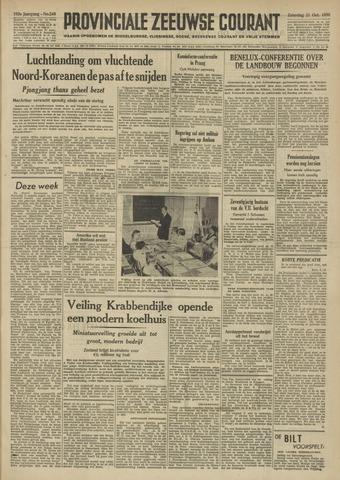 Provinciale Zeeuwse Courant 1950-10-21