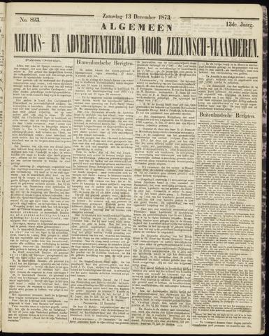 Ter Neuzensche Courant. Algemeen Nieuws- en Advertentieblad voor Zeeuwsch-Vlaanderen / Neuzensche Courant ... (idem) / (Algemeen) nieuws en advertentieblad voor Zeeuwsch-Vlaanderen 1873-12-13