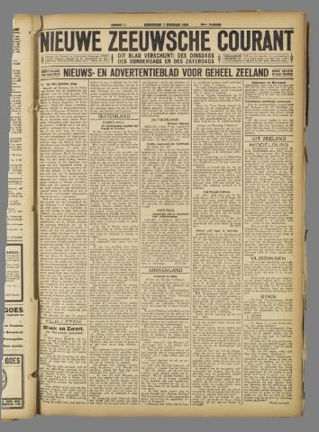 Nieuwe Zeeuwsche Courant 1924-02-07
