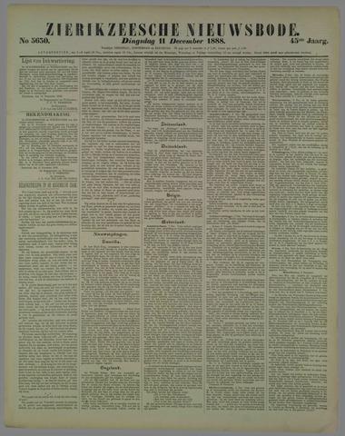 Zierikzeesche Nieuwsbode 1888-12-11
