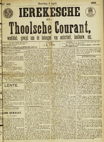 Ierseksche en Thoolsche Courant 1893-04-01
