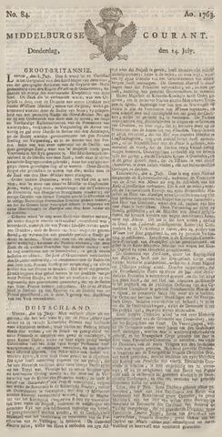 Middelburgsche Courant 1763-07-14