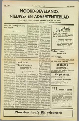 Noord-Bevelands Nieuws- en advertentieblad 1960-06-11
