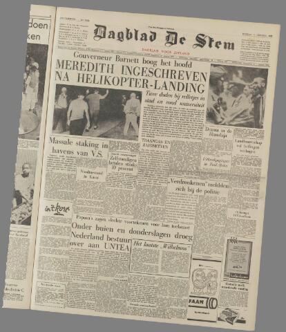 de Stem 1962-10-02