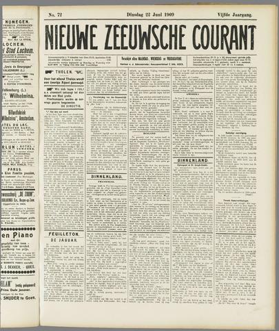 Nieuwe Zeeuwsche Courant 1909-06-22