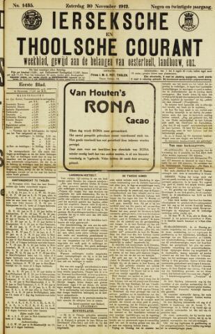 Ierseksche en Thoolsche Courant 1912-11-30